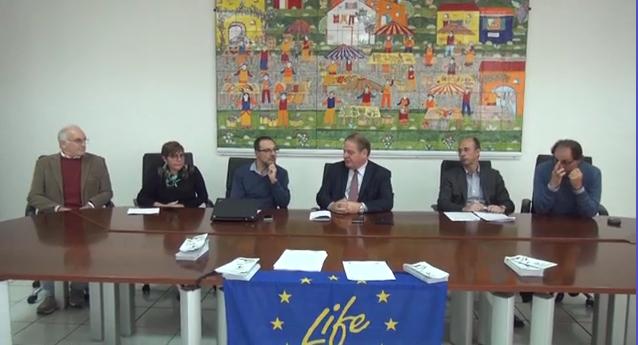 Echi della conferenza stampa del progetto LIFE ConRaSi
