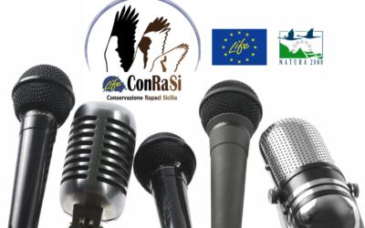 Conferenza stampa di presentazione del progetto LIFE ConRaSi