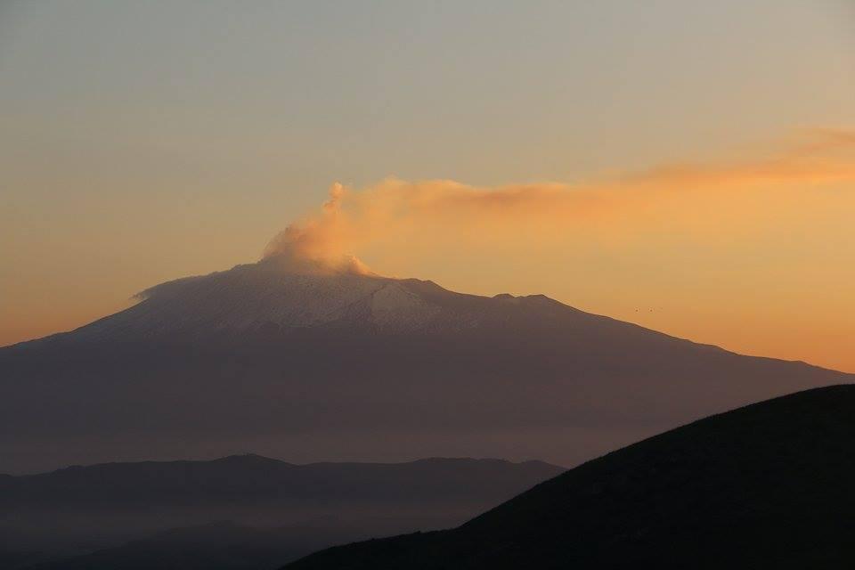 La montagna fumante (foto Muscarella)