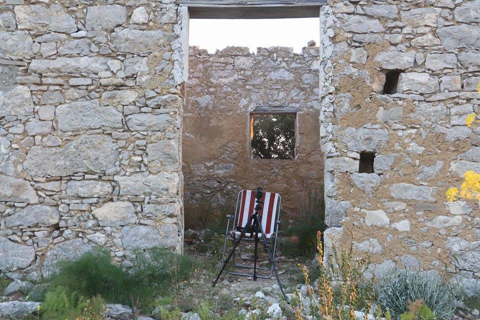 Uno dei siti di sorveglianza (foto Muscarella)