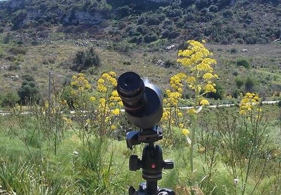 The telescope always ready (photo Muscarella)