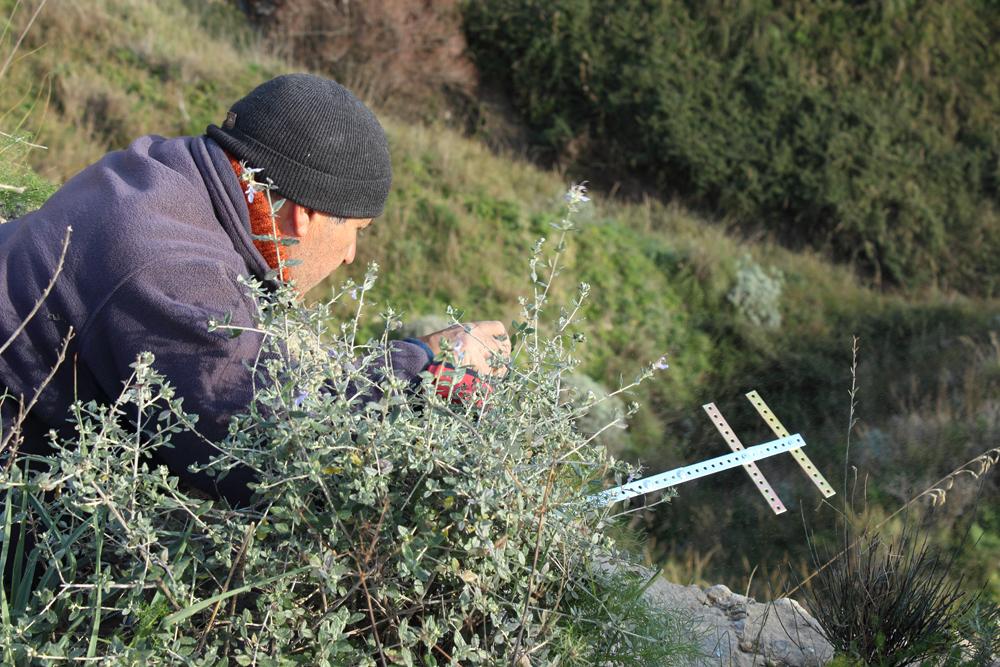 Setting up the brackets (photo Di Vittorio)
