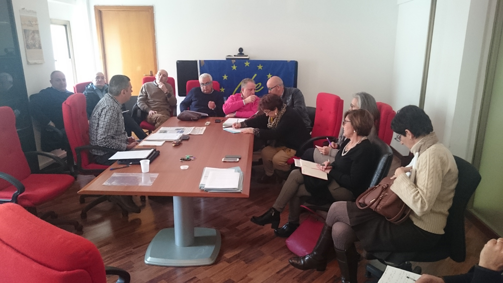 Coordination meeting, March 2016 (photo Catullo)