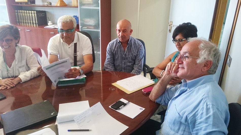 Riunione di coordinamento giugno 2016 (foto Catullo)