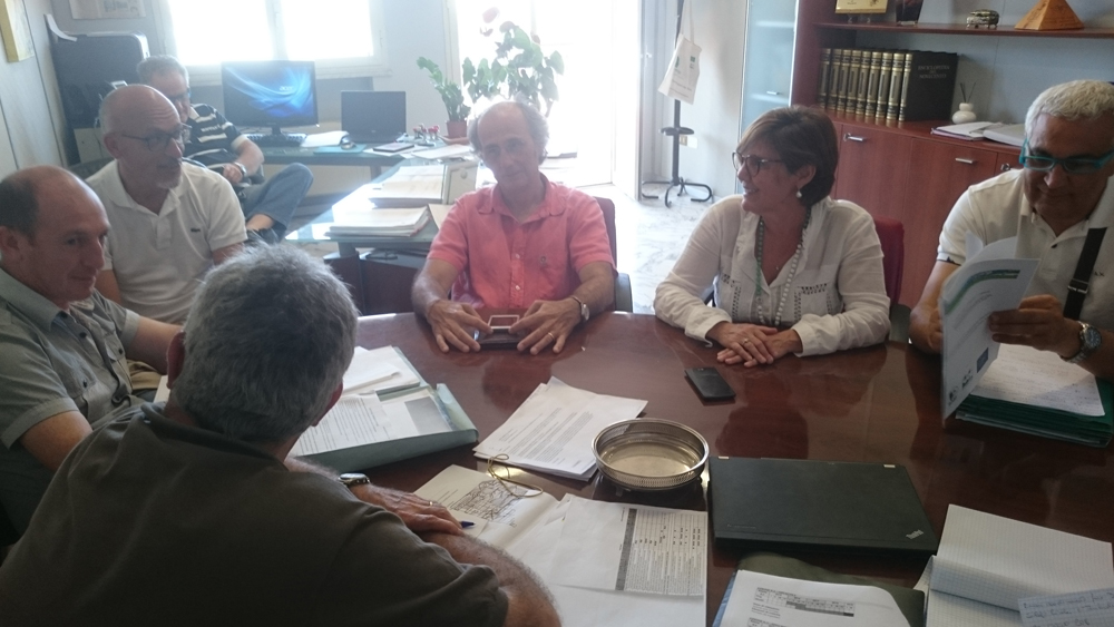 Coordination meeting, June 2016 (photo Catullo)