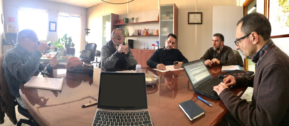 Coordination meeting, March 2017 (photo Pollutri)