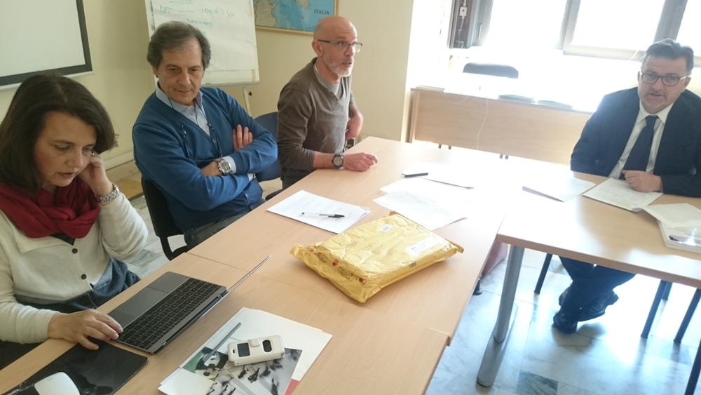 Administrative meeting at WWF, April 2017 (photo Catullo)