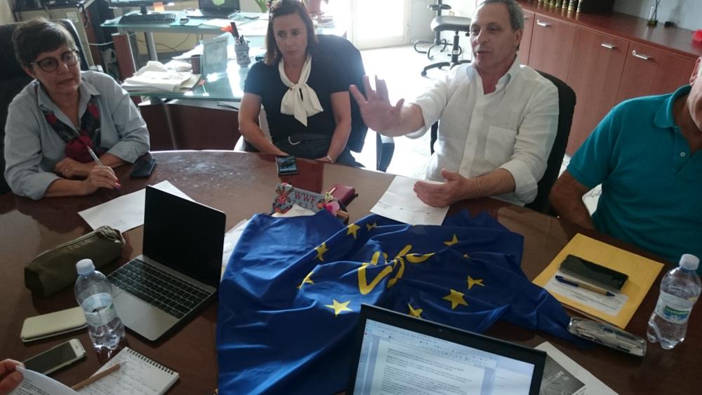 Riunione di coordinamento maggio 2017 (foto Catullo)