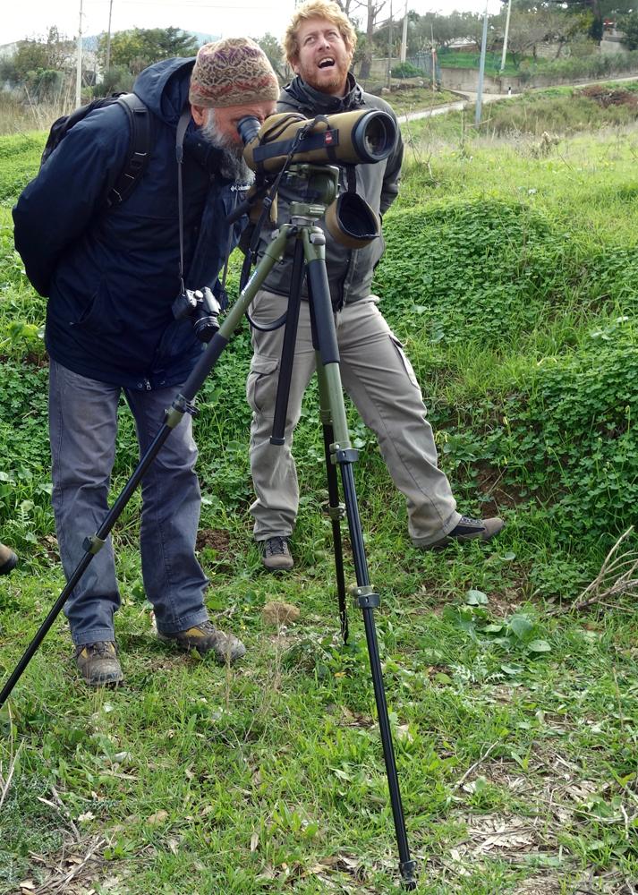 Il Dott. Lischi monitor di progetto per conto di Neemo (foto Pollutri)