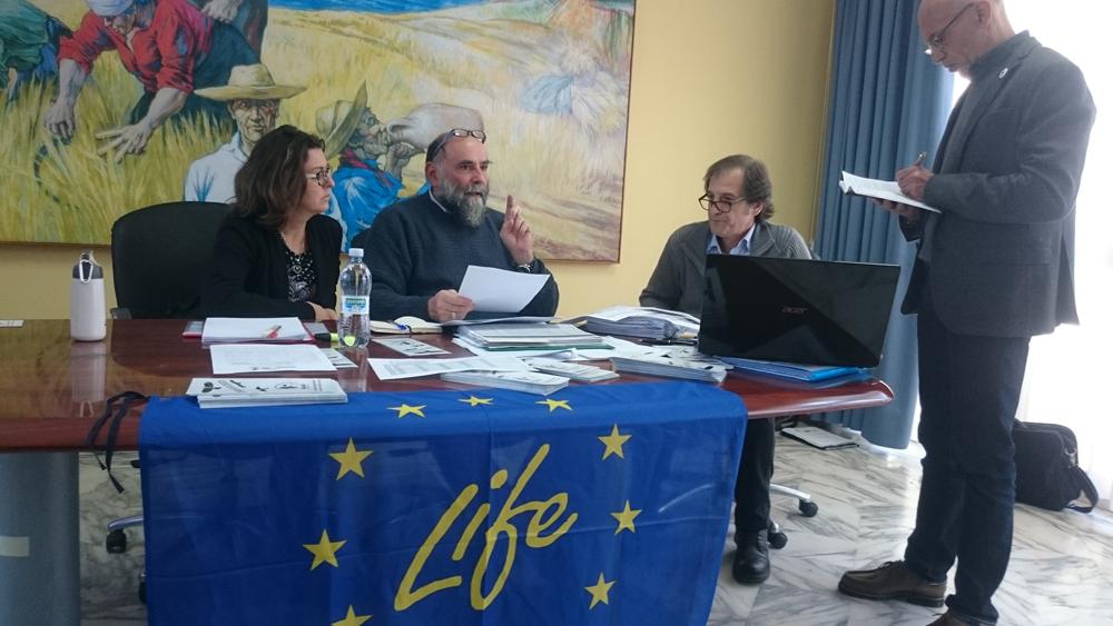 The administrative check (photo Catullo)
