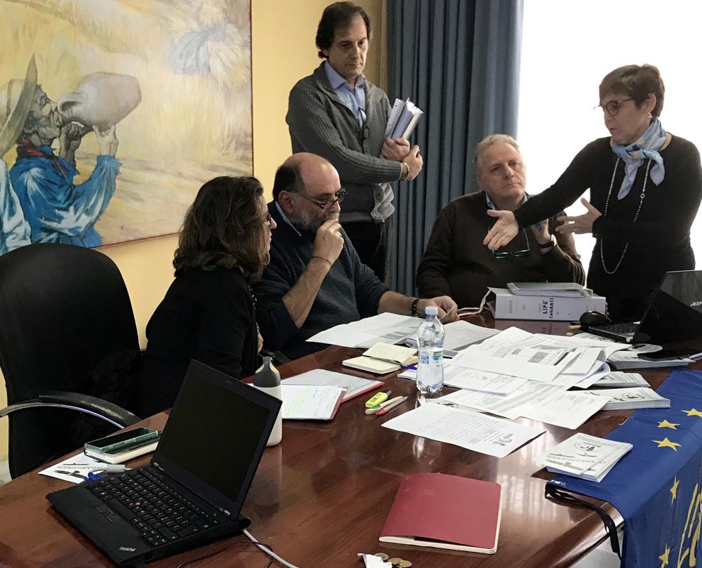 La verifica amministrativa (foto Catullo)