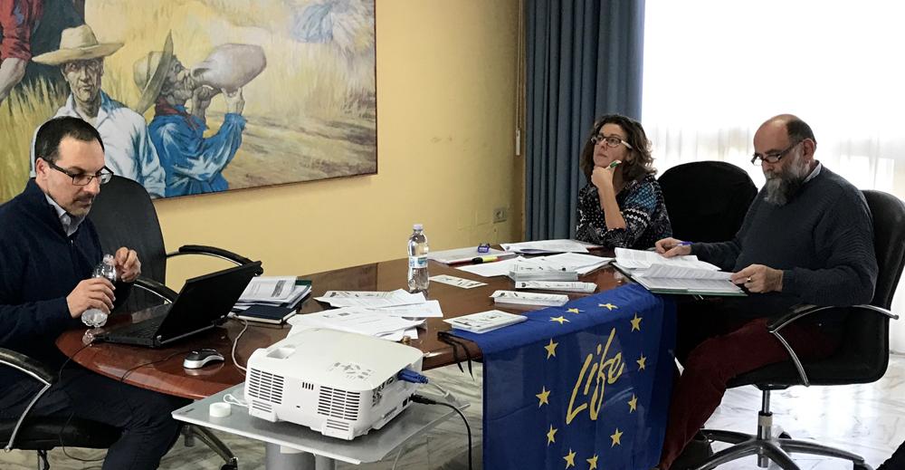 Presentazione dello stato di attuazione delle azioni (foto Pollutri)