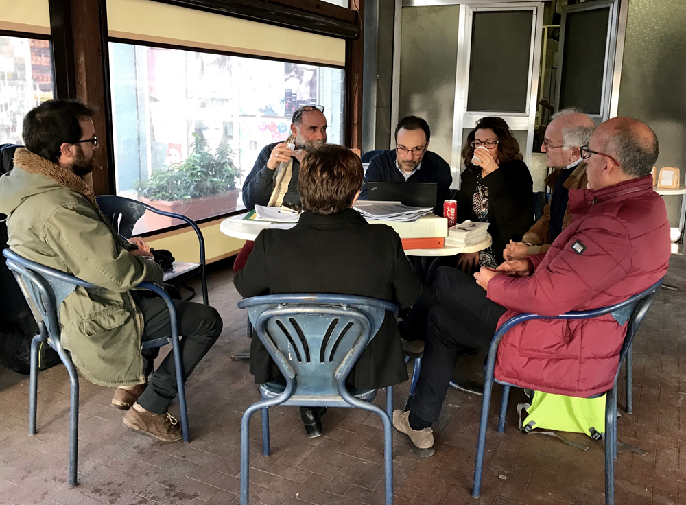 End of the monitoring visit (photo Pollutri)