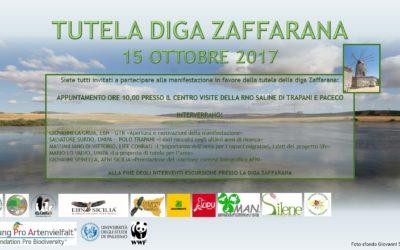 ConRaSi sostiene l'iniziativa del 15 ottobre a favore della Diga Zaffarana
