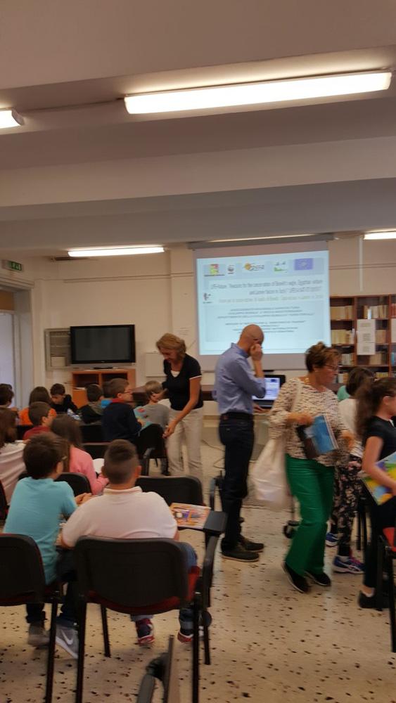 Un incontro in classe (foto Chirco)