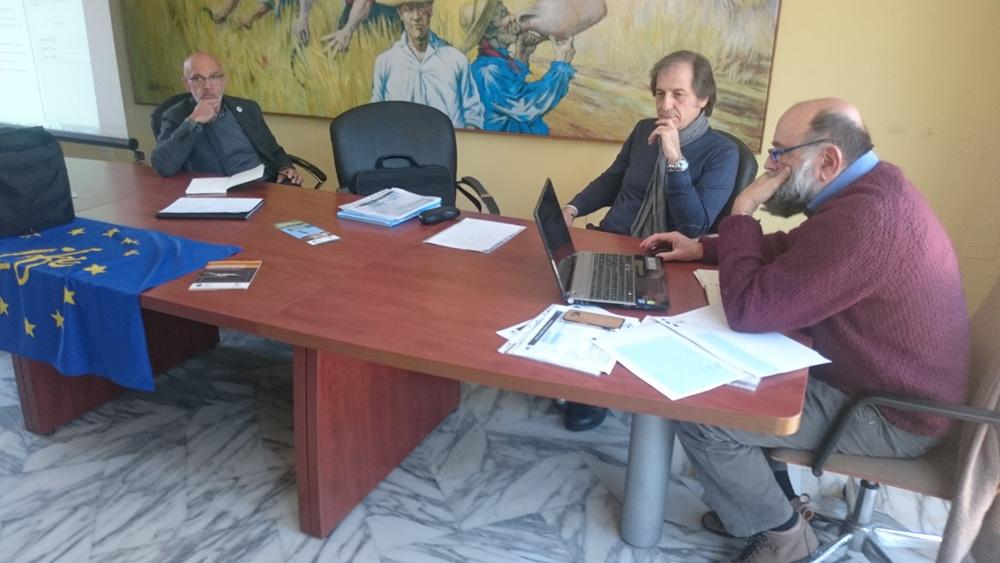 The administrative control (photo Catullo)