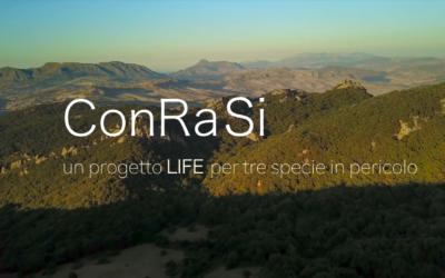 Rilasciato il documentario del progetto LIFE ConRaSi