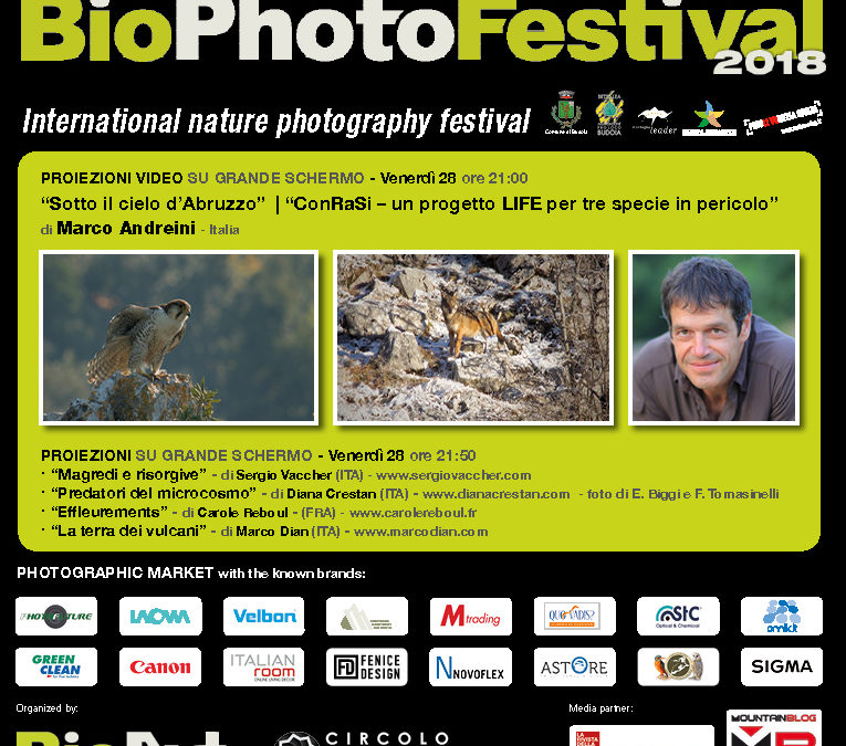 LIFE ConRaSI al BioPhotoFestival 2018