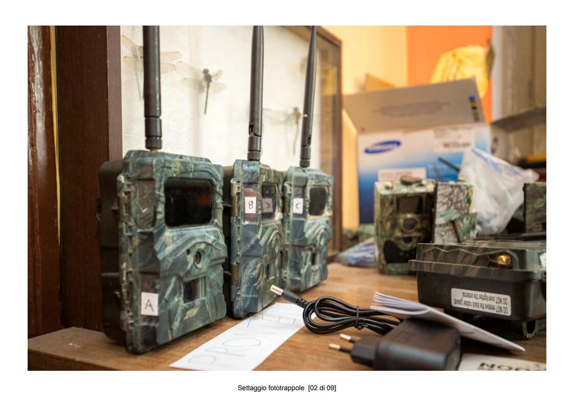Camera traps setting - 02 of 09 (photo: Mathia Coco)