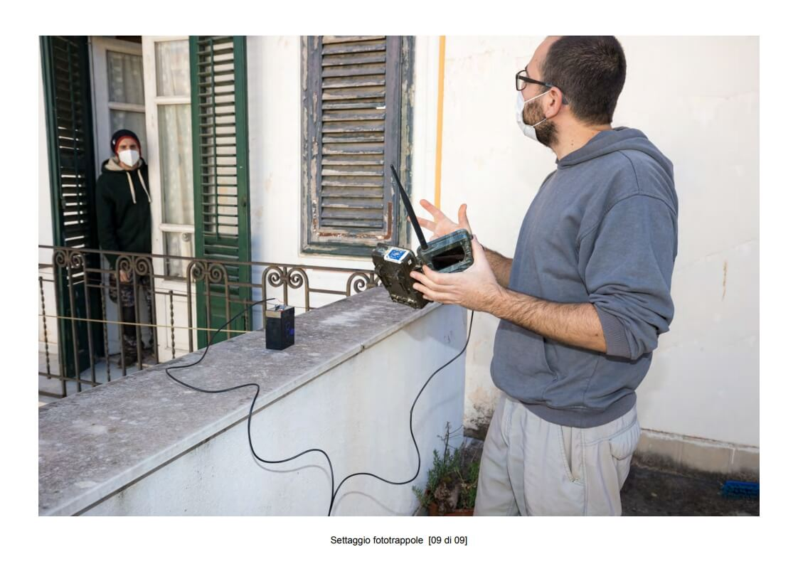 Camera traps setting - 09 of 09 (photo: Mathia Coco)
