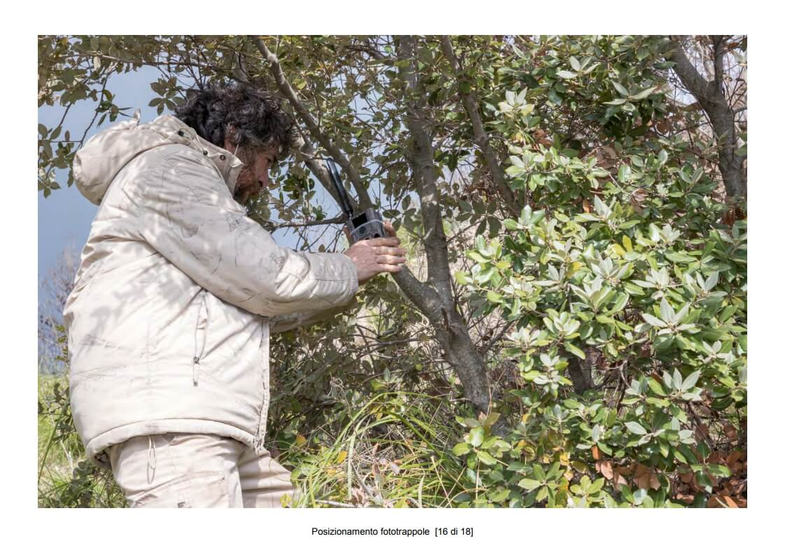 Positioning of camera traps - 16 of 18 (photo: Mathia Coco)