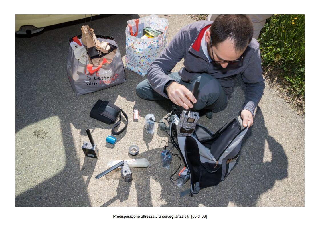 Preparation of site surveillance equipment - 05 of 06 (photo: Mathia Coco)