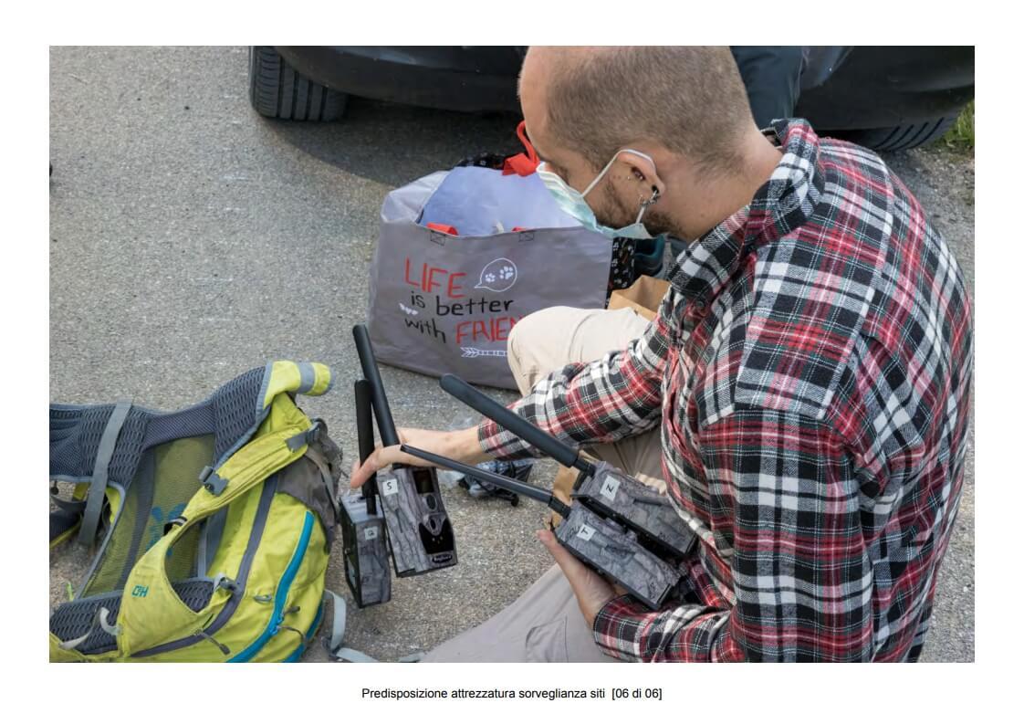 Preparation of site surveillance equipment - 06 of 06 (photo: Mathia Coco)